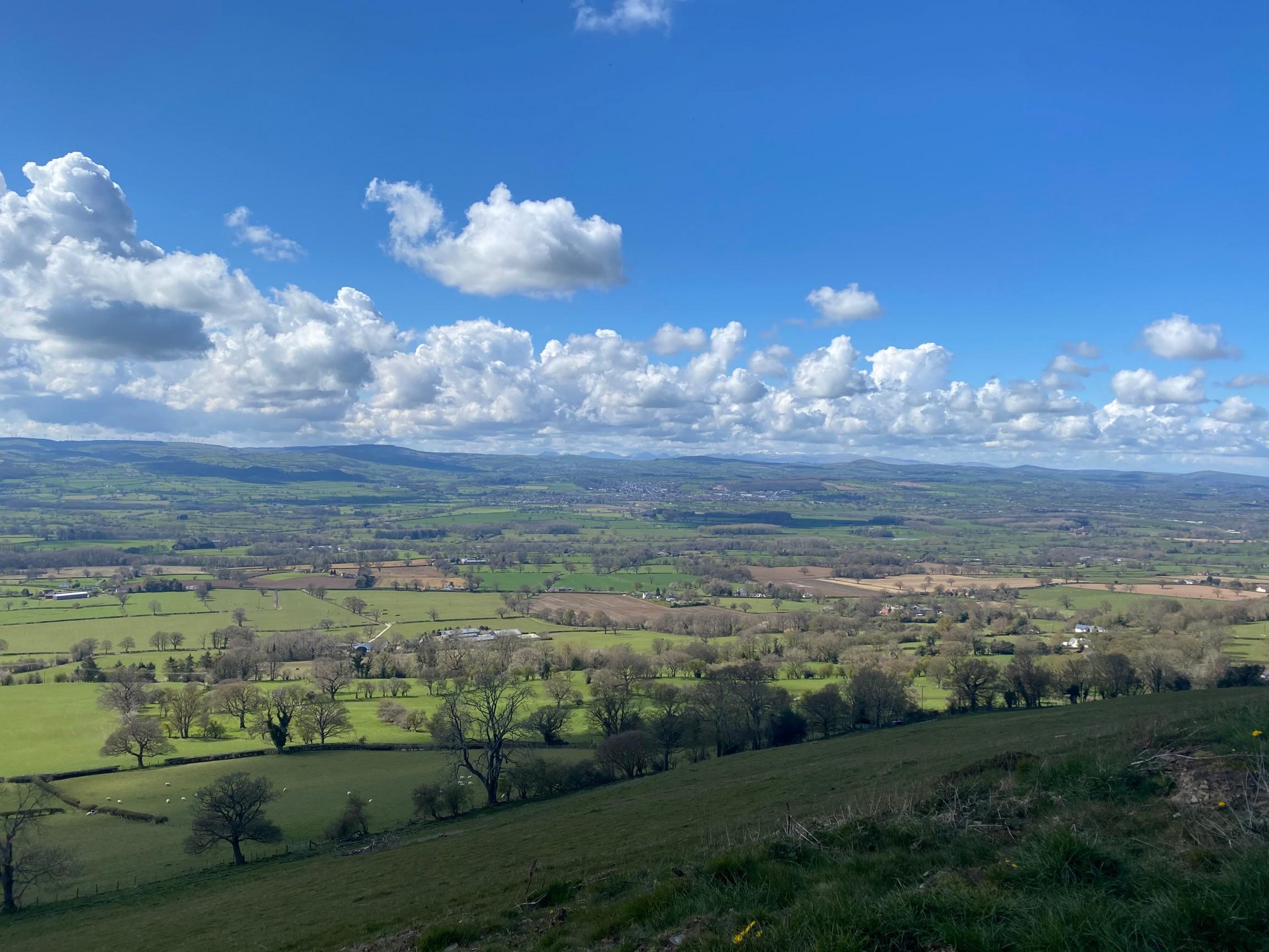 Halkyn mountain, Wales